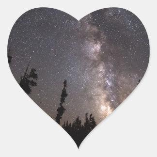 Sticker Cœur Une expérience céleste