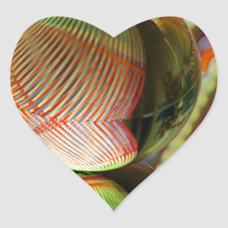 Sticker Cœur Variation sur un thème 2
