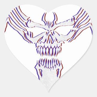 Sticker Cœur Venimeux