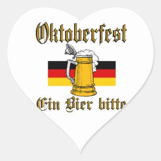 Sticker Cœur Vitesse d'Oktoberfest