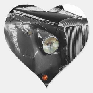 Sticker Cœur Voiture automatique de classique d'Oldtimer