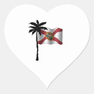 STICKER CŒUR VOYAGE VERS LA FLORIDE