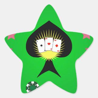 Sticker Étoile 64Casino Logo_rasterized
