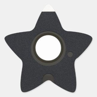 Sticker Étoile À disque souple