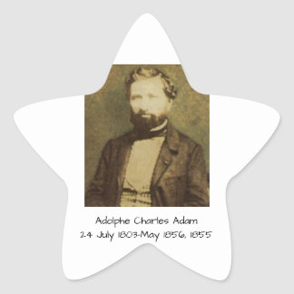 Sticker Étoile Adolphe Charles Adam, 1855