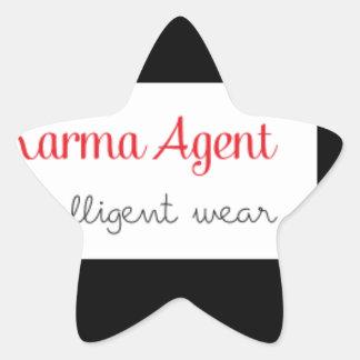 Sticker Étoile agent de karma - usage intelligent, énergie