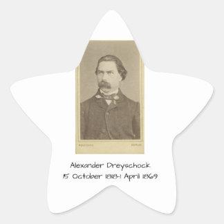 Sticker Étoile Alexandre Dreyschock