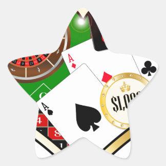 Sticker Étoile Amour jouant