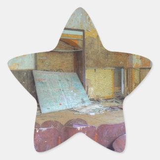Sticker Étoile Amphithéâtre 01,0, endroits perdus, Beelitz