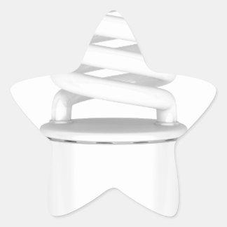 Sticker Étoile Ampoule fluorescente