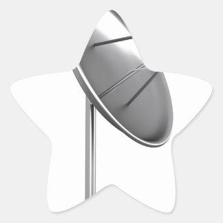 Sticker Étoile Antenne parabolique