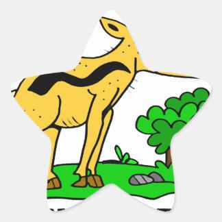 Sticker Étoile Antilope par Lorenzo Traverso