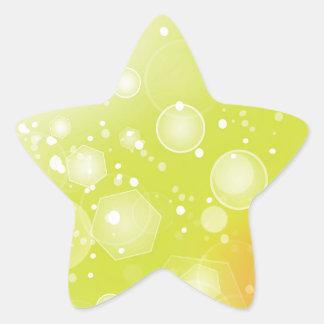Sticker Étoile arrière - plan du soleil