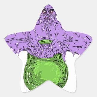Sticker Étoile Art de levage de crasse de Bell de bouilloire