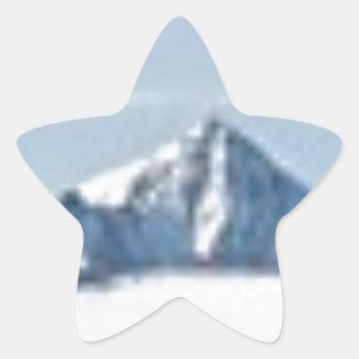 Sticker Étoile au-dessus des nuages