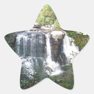 Sticker Étoile Automnes de Blackwater, la Virginie Occidentale