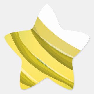 Sticker Étoile Bananes