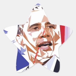 Sticker Étoile Barack Obama