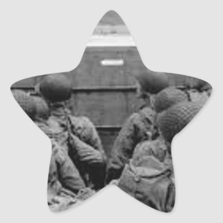Sticker Étoile Bataille de la Normandie