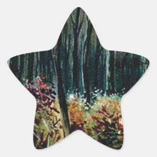 Sticker Étoile beauté dans les bois