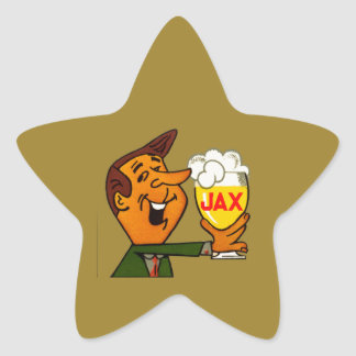 Sticker Étoile Bière de Jax