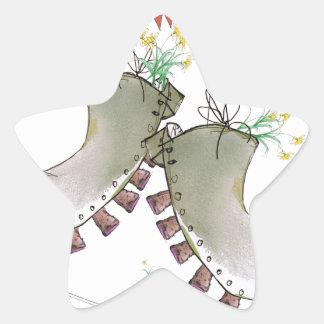 Sticker Étoile bottes de gallois