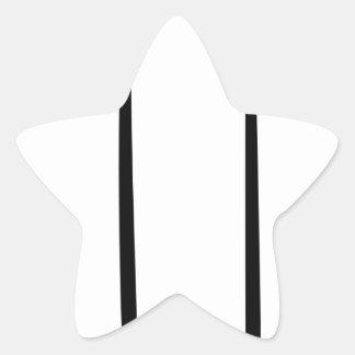 Sticker Étoile Bougie de Lit