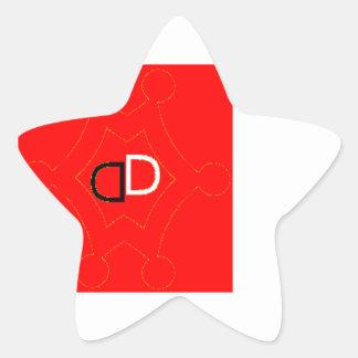 Sticker Étoile by Démon Déchu
