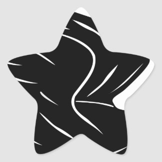 Sticker Étoile Canard de vol