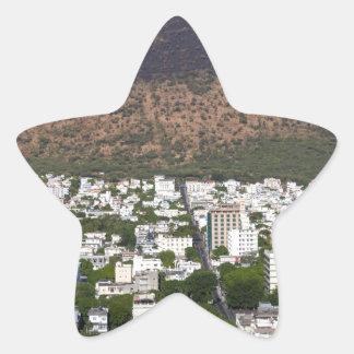 Sticker Étoile Capitale d'horizon de Port-Louis des Îles Maurice