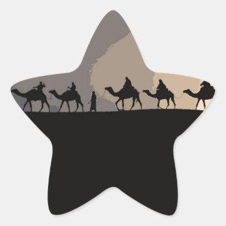 Sticker Étoile Caravane