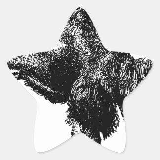 Sticker Étoile Chameau Bactrian