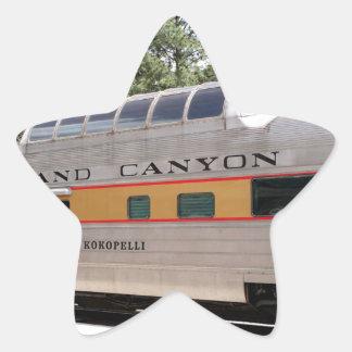 Sticker Étoile Chariot ferroviaire de canyon grand, Arizona