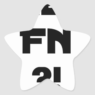 Sticker Étoile Chéri FN ?! - Jeux de Mots - Francois Ville