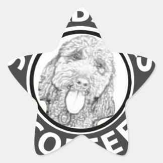Sticker Étoile chien Starbucks