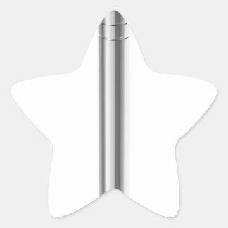 Sticker Étoile Clou en acier