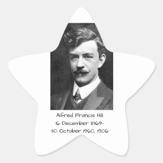 Sticker Étoile Colline 1906 d'Alfred Francis