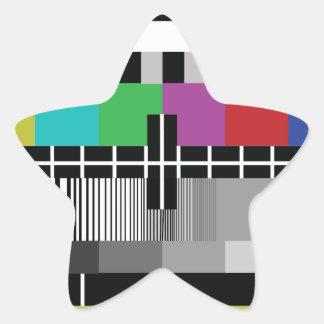 Sticker Étoile Common Essai PAL TV