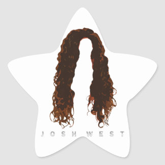 Sticker Étoile Conception des cheveux de Josh