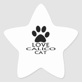 STICKER ÉTOILE CONCEPTIONS DE CAT DE CALICOT D'AMOUR