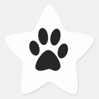 Sticker Étoile Copie de chien
