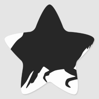 Sticker Étoile Corneille mauvaise