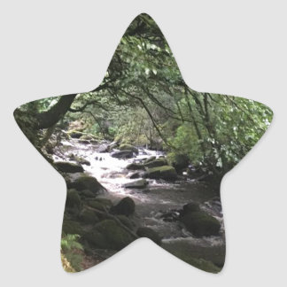 Sticker Étoile Courant irlandais