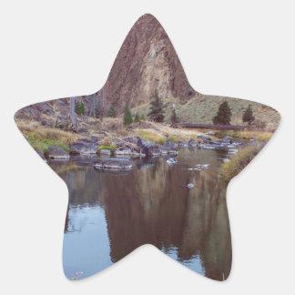 Sticker Étoile Courbure Orégon de roche de Smith