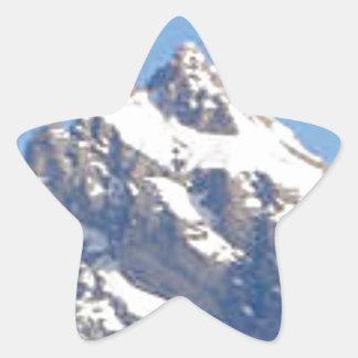 Sticker Étoile crête centrale dans la gamme
