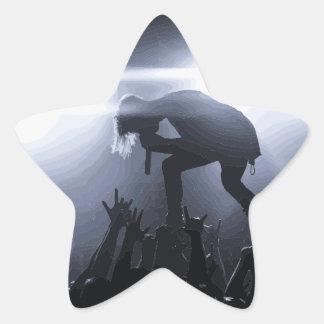 Sticker Étoile Criez-le !