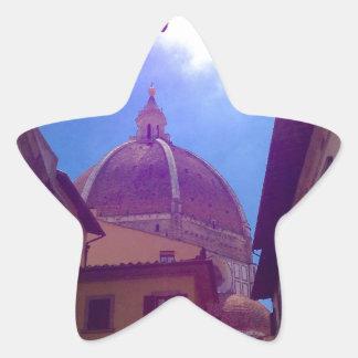 Sticker Étoile Dôme de Brunelleschi à Florence, Italie