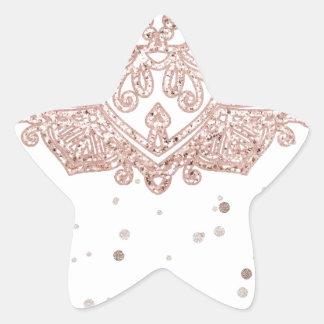 Sticker Étoile Douches paisibles