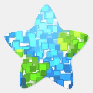 Sticker Étoile earth2