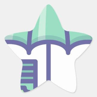 Sticker Étoile Économiser pendant un jour de pluie